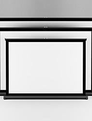 офис бизнес-проектор портативный экран стола 40 дюймов 4: 3 легко нести белая матовая проекция для обучения