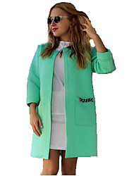 Women Long Coat Open Stitch Trench Coat for Women Fashion Trench Coat Chaquetas Mujer