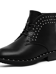 Girl's Boots Spring / Fall / Winter Others Leather Outdoor / Dress / Casual Rivet Black / Red / Gray Others