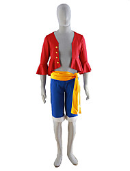 One Piece Cosplay Costumes Top / Coat /Shorts /Belt Kid