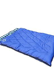 Sac de couchage Rectangulaire Double 10 Duvet de canard100 Camping Voyage IntérieurEtanche Résistant au vent Bonne ventilation Portable