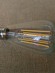 6W E26/E27 LED Glühlampen ST64 6 SMD 2835 480-600 lm Warmes Weiß Dekorativ V 1 Stück