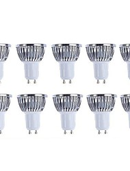 5w gu10 led spotlight 4 cob 500 lm blanc chaud / cool blanc réglable 220-240 / ac 110-130 v 10 pcs