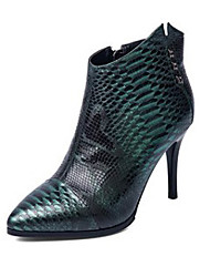 Feminino-Botas-Others-Salto Agulha-Verde-Napa Leather-Casual