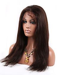 8a grade natürliche gerade nicht verarbeitete Spitze Front Perücken glueless Perücken Menschenhaar für schwarze Frauen Perücken Spitze