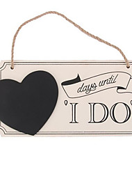 Wood Wedding Decorations-1Piece/Set Non-personalized