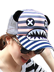 Fashion Letter Embroidery Net Hat Women 'S Leisure Baseball Cap