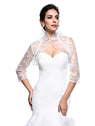 Women's Wrap Shrugs Lace Wedding / Party/Evening