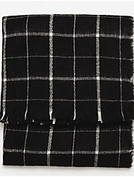 Unisex Rayon Scarf,Casual SquareCheck