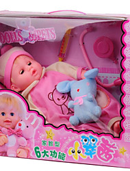 Novelty Toy Doll Plastic Pink For Boys / For Girls