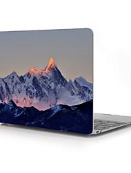 montanhas projeto do caso do plástico de proteção de corpo inteiro para / ar novo MacBook de 13 polegadas de 11 polegadas