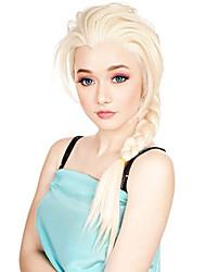 longues tresses couleur blond perruques synthétiques perruques bon marché pour la fête des femmes de la mode