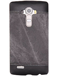 For Shockproof Case Back Cover Case Solid Color Hard PU Leather for LG LG K10 / LG K8 / LG K7 / LG G5 / LG G4 / LG G3 / LG Nexus 5