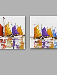 100% Hand-Painted Abstract Hang-Painted Oil PaintingModern / Classic One Panel Canvas Oil Painting For Home Decoration