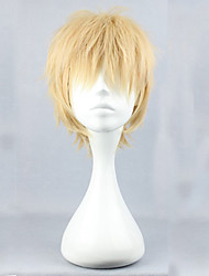Cosplay Wigs Dramatical Murder Noiz Yellow Short Anime/ Video Games Cosplay Wigs 30 CM Male / Female