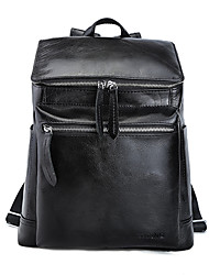 Unisex Sports Casual Outdoor Shopping Backpack Cowhide