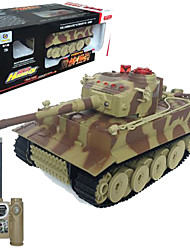 Tank Racing 518 1:24 Brushless Electric RC Car 50km/h 2.4G Camouflage Ready-To-Go Tank / USB Cable / User Manual