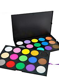 30 Lidschattenpalette Trocken Lidschatten-Palette Kompaktpuder Normal Alltag Make-up