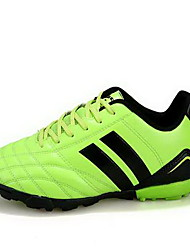 Soccer Shoes Unisex Anti-Slip Anti-Shake/Damping Wearproof Breathable Outdoor Low-Top PVC Leather Soccer/Football