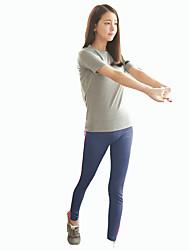 Corrida Conjuntos de Roupas/Ternos Confortável Modal Ioga / Corrida Wear Sports Stretchy Delgado Interior / Roupas para Lazer PatchworkM