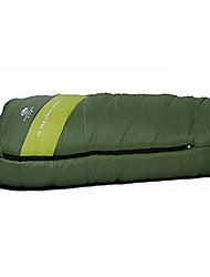 Bolsa de dormir Saco de Dormir Sencilla 10 PlumónX50 Camping Viaje Interior Bien Ventilado Impermeable Portátil Resistente al Viento