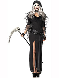 Wizard/Witch Festival/Holiday Costumes Dress / Hats / Scarf Female Polyester