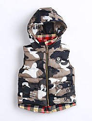 Boy Casual/Daily Print Vest,Cotton Winter / Fall Sleeveless
