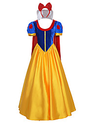 Cosplay Costumes / Princess Dress white Halloween Costumes Custom Made