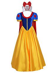 Fantasias de Cosplay Artigos de Halloween Festa a Fantasia Baile de MáscaraMago/Bruxa Princesa Rainha Cinderella Cauda de Sereia Conto de
