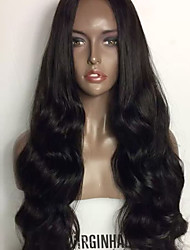 Top 8A Body Wave Glueless Lace Front Wigs Brazilian Virgin Human Hair Wigs With Baby Hair For Women