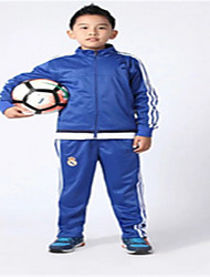 Sports Kid's Long Sleeve Soccer Waterproof / Breathable / Thermal / Warm / Quick Dry / Windproof / Front ZipperLeisure Sports / Badminton