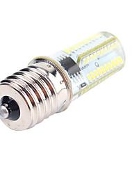 5w e12 e17 ba15 lumières led maïs 80 smd 3014 450 lm blanc chaud / blanc froid réglable 220-240 / 110-130 v 1 pcs