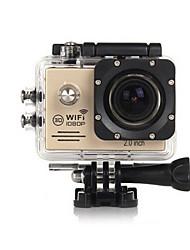 OEM SJ7000 Caméra d'action / Caméra sport 1920 x 1080 Wi-Fi Non 2 CMOS 32 Go Prise Simple / Mode Rafale 5 M Universel