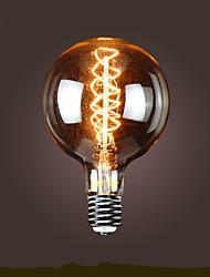 e40 25w antique edison soie balle bulle lampe bofa (85v-265v)