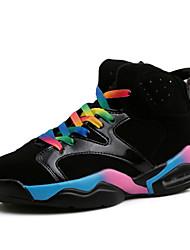 Big Size Women's Fashion Basketball Shoes Casual High Top Shoes Lover Shoes Flat Heel More Color EU36-43