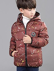 Boy Casual/Daily / School Polka Dot Down & Cotton Padded,Polyester / Nylon Winter / Fall Long Sleeve