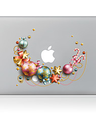Star Ball Christmas Decorative Skin Sticker for MacBook Air/Pro/Pro with Retina