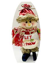 Toys Christmas Decorations Santa Suits Elk Snowman Holiday Supplies Textile