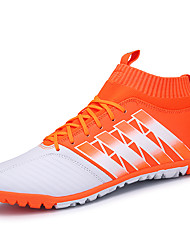 chaussures de sport printemps été automne hiver confort pu extérieur athlétique bleu rouge soccer orange lacets