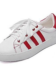 Women's Sneakers Comfort Pigskin Casual White
