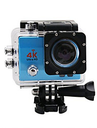 4K Caméra d'action / Caméra sport 8MP / 3MP / 5MP / 12MP Wi-Fi / Etanches / Grand angle 30ips Non 2 CMOS Prise Simple / Mode Rafale 30 M