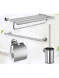 Bathroom Accessory Set / Chrome /Stainless Steel /Contemporary