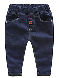 Boy Casual/Daily Solid Jeans-Cotton Winter