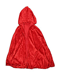 Festival/Holiday Halloween Costumes Red Solid Cloak Christmas Kid