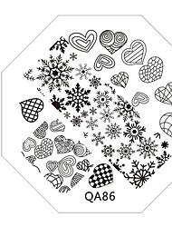 1 Tampons Ongles  Modèle d'image Plaques Pochoir