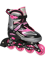 Aluminium Alloy Inline Skates for Kid's Adults' Anti-Shake/Damping Breathable Adjustable Protective ABEC-7