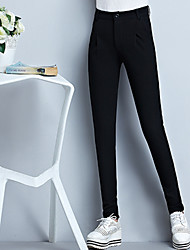 Women's Solid Black / Gray Harem Pants,Thigh Slimmers Winter