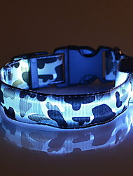 Colliers Lampe LED Ajustable/Réglable camouflage Nylon