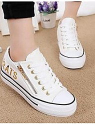 Women's Sneakers Comfort Canvas Casual White
