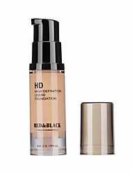 Foundation Matte Liquid Moisture / Coverage / Oil-control / Long Lasting / Concealer / Waterproof / Uneven Skin Tone / Natural Face